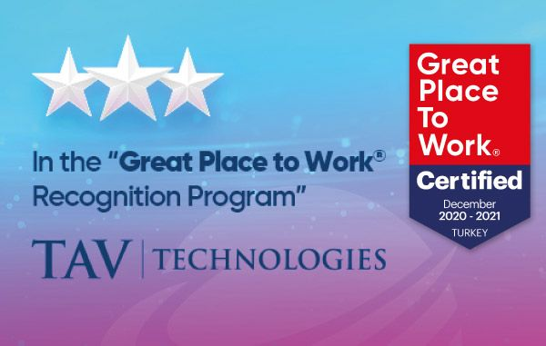 """TAV Technologies is a """"Great Place to Work"""""""